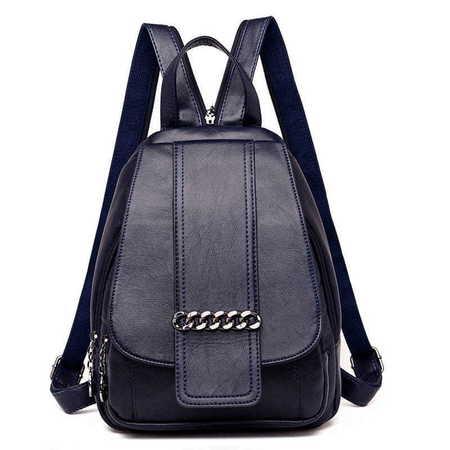 X016 Elegancki modny plecaczek damski  (1)