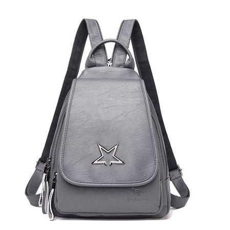 X015 Elegancki modny plecaczek damski  (1)