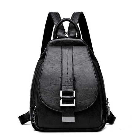 X018 Elegancki modny plecaczek damski  (1)