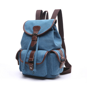 X950 Duży modny plecak damski canvas