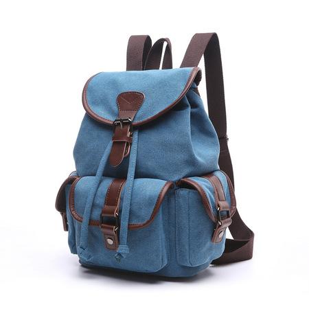 X950 Duży modny plecak damski canvas (1)