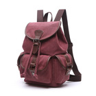 X950 Duży modny plecak damski canvas (5)