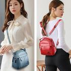 X040 Elegancka stylowa torebka-plecak (12)