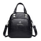 X041 Elegancka stylowa torebka-plecak (4)