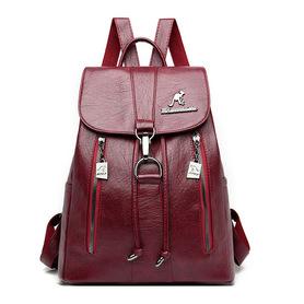 X051 Duży stylowy plecak damski