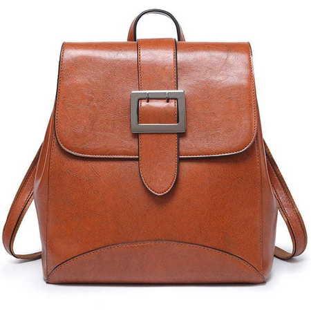 H277 Elegancki stylowy plecak-torebka  (1)
