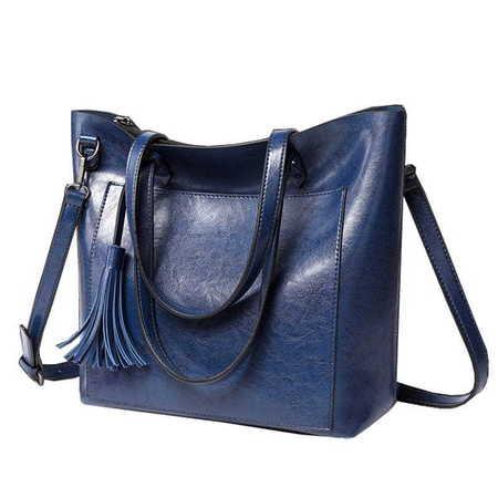 H410 Praktyczna torebka damska shopperka  (1)